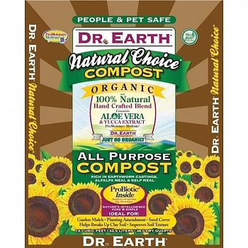 Dr. Earth Natural Choice Compost Mix - 1.5 ft.