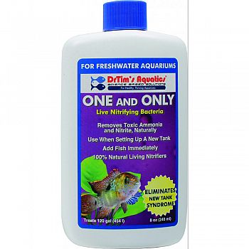 One And Only Freshwater Aquarium Solution  8 OUNCE
