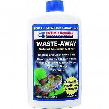 Waste-away Freshwater Aquarium Solution  16 OUNCE