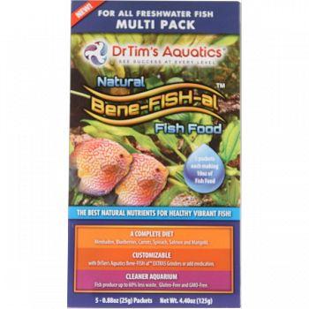 Bene-fish-al Fish Food Freshwater Multi-pack  6.4 OUNCE
