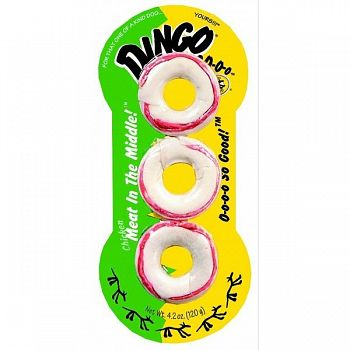 Dingo Ringo 3 pack for Dogs - 4.2 oz.