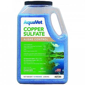 Copper Sulfate Granular Pond Algae Control - 15 lbs.