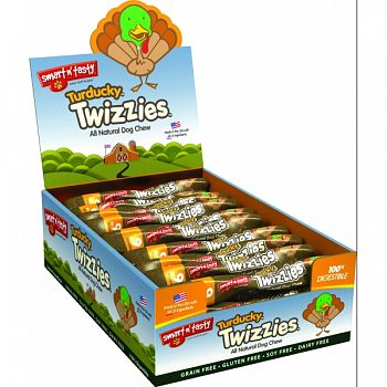 Smart N Tasty Turducky Twizzies TURKEY/DUCK 6 INCH/30 COUNT