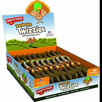 Smart N Tasty Turducky Twizzies TURKEY/DUCK 12INCH/30 COUNT