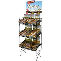 Smart N Taste Twizzies Empty Display Rack