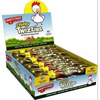 Smart N Tasty Chicky Twizzies CHICKEN 9 INCH/30 COUNT