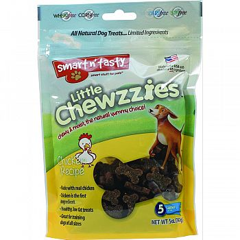 Smart N Tasty Little Chewzzies Dog Treats CHICKEN 5 OUNCE