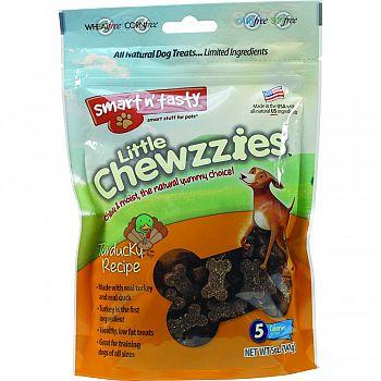 Smart N Tasty Little Chewzzies Dog Treats TURDUCKY 5 OUNCE