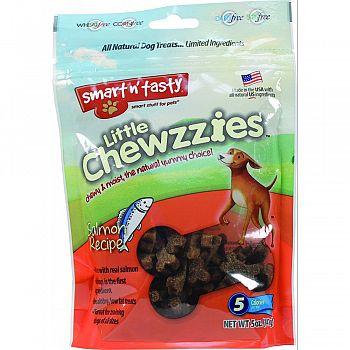 Smart N Tasty Little Chewzzies Dog Treats SALMON 5 OUNCE