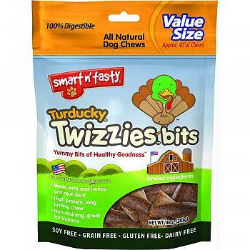 Smart N Tasty Turducky Twizzies Bits TURKEY/DUCK 10 OUNCE
