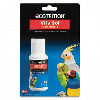 Vita-Sol Vitamin Supplement For Birds 1 oz.