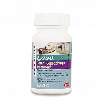 Deter Dog Coprophagia Treatment - 60 ct.