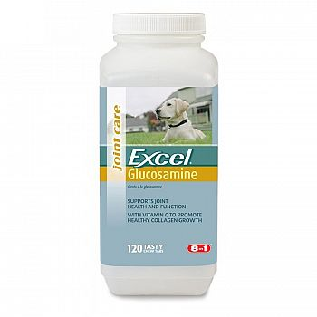 Excel Glucosamine for dogs 120 ct.