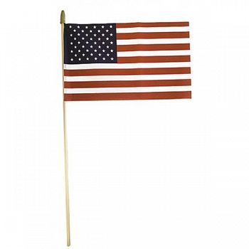 United States Hand Flag No-sew - 8 x 12 in.