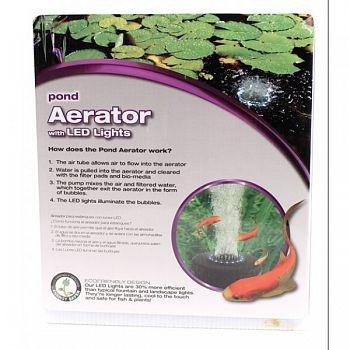 Pond Aerator With Led Lights