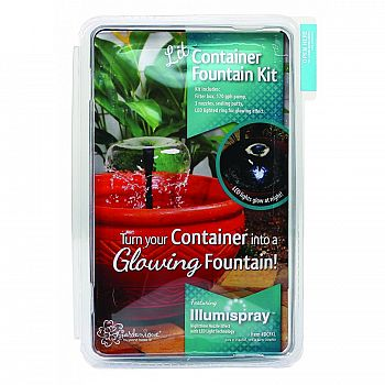 Container Fountain Kit With Lights