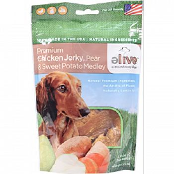 Premium Chicken Jerky With Pear And Sweet Potato