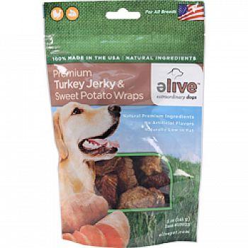 Premium Turkey Jerky And Sweet Potato Wraps