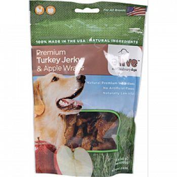 Premium Turkey Jerky And Apple Wraps