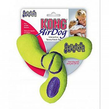 Air Squeaker Spinner for Dogs - Med.