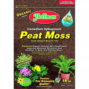 Hoffman Canadian Sphagnum Peat Moss  18 QUART