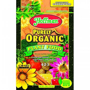 Hoffman Purely Organic Plant Food  4 POUND (Case of 12)