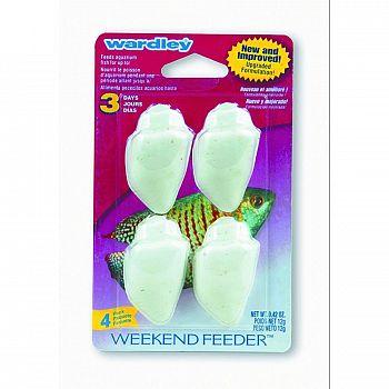 Wardley Premium Weekend Feeder - 4 Pack - .42 oz.