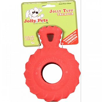 Jolly Tuff Treader RED 4.5 INCH