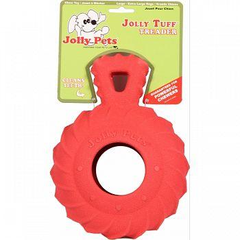 Jolly Tuff Treader RED 6 INCH