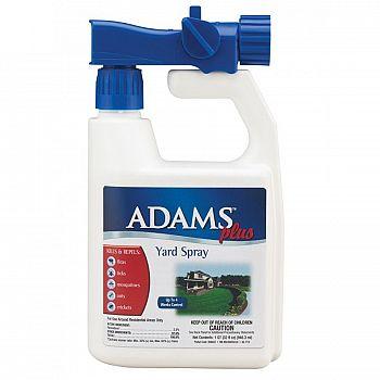 Adams Plus Yard Spray - Flea and Tick Repellant - 32 oz.