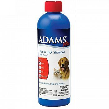 Adams Plus Flea & Tick Shampoo with IGR - 12 oz.