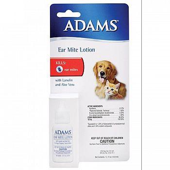Adams Pene-Mite Ear Mite Treatment - .5 oz.