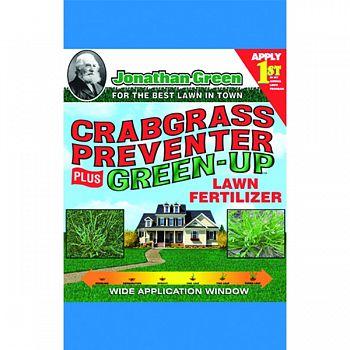 Crabgrass Preventer Plus Green-up Lawn Fertilizer  15 POUND