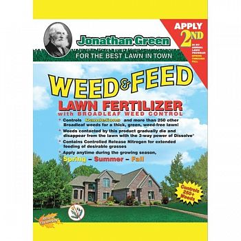 Weed & Feed 25-0-3 - 5000 sq. ft.