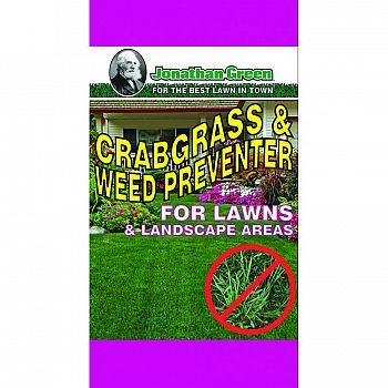 Crabgrass & Weed Control