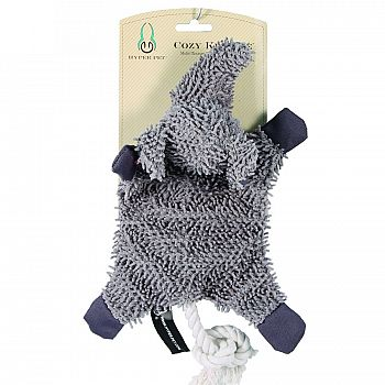 Cozy Krinkle Multi-texture Dog Toy With Squeaker