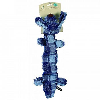 Patchwork Skinz Stuffless Dog Toy With Squeaker