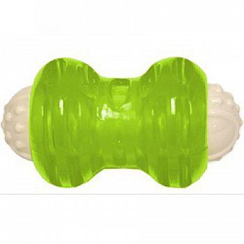 Hyper Squawker Bone Dog Toy