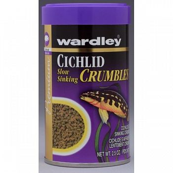Premium Cichlid Crumbles - 2.5 oz