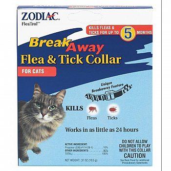 FleaTrol Breakaway Cat Collar by Zodiac