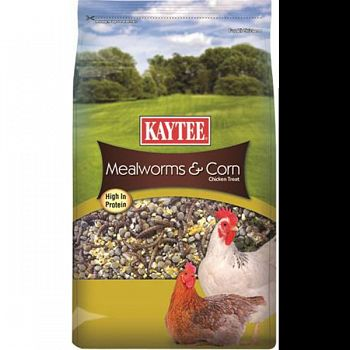 Kt Mealworms And Corn Treat  3 POUND