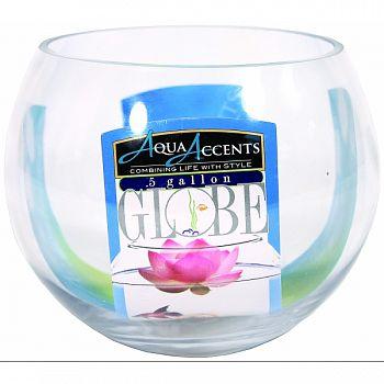 Aqua Accents Round Glass Bowl  .5 GALLON