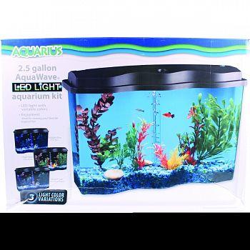 Aquarius Aquawave Aquarium Kit  2.5 GALLON