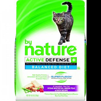 By Nature Balanced Diet Dry Cat Food OCEAN WHITEFISH 4.8 LB