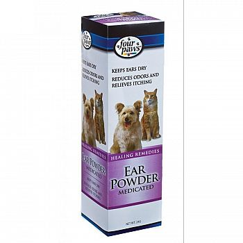 Four Paws Medicated Ear Powder 24 g.