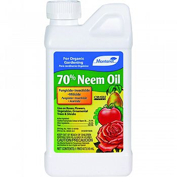 Monterey 70% Neem Oil  16 OUNCE (Case of 12)