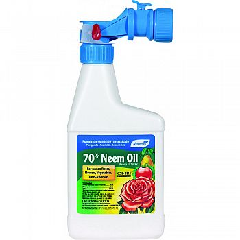 Monterey 70% Neem Oil Ready To Spray  16 OUNCE (Case of 12)