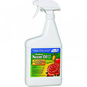 Monterey Neem Oil Ready To Use  32 OUNCE (Case of 12)