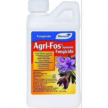 Monterey Agri-fos Systemic Fungicide Concentrate  16 OUNCE (Case of 12)
