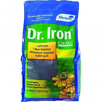 Monterey Dr. Iron  21 POUND BAG (Case of 4)